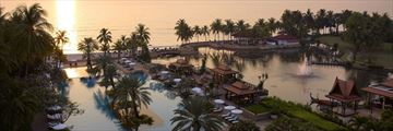 Dusit Thani Hua Hin, Aerial View of Resort and Pool