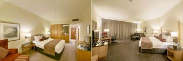Duxton Hotel Perth, Deluxe King or Deluxe King River View and Club King or Club King River View