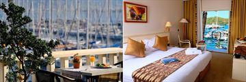 Breakfast and Sea View Room at Ece Saray Marina & Resort