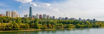 Edmonton skyline, Alberta