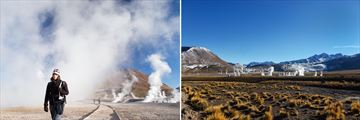 Geothermal Scenery in El Tatio, Chile