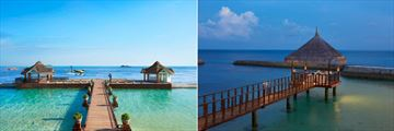 Ellaidhoo Maldives by Cinnamon, Arrival Jetty and Romantic Dining