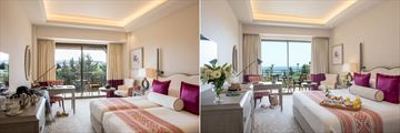 Double Room inland and sea views at Elysium