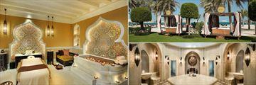 Emirates Palace, Spa Treatment Room, Spa Cabanas and Hammam at Spa
