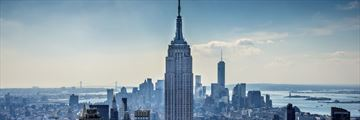 The impressive Empire State Building, Manhattan