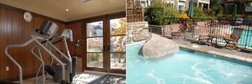 Les Suites de Tremblant - Ermitage du Lac, Fitness Room and Pool and Hot Tub