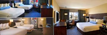 Resort Tower Double Queen Room, Resort Tower King Room and Rotal Tower Double Queen Rooms at Excalibur Hotel & Casino