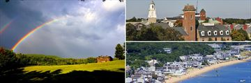 Stockbridge, Salem and Provincetown in Massachusetts