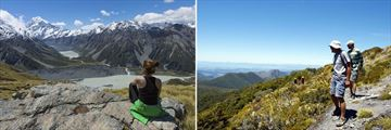 Exploring the stunning scenery across the North and South Islands, New Zealand