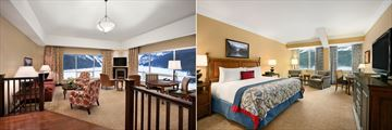 Fairmont Chateau Lake Louise, Gold Marquis De Lorne Suite and Fairmont Gold Junior Suite