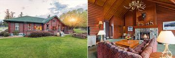 Fairmont Jasper Park Lodge, Milligan Signature Cabin