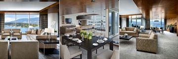 Fairmont Pacific Rim, Fairmont Gold Corner Suite