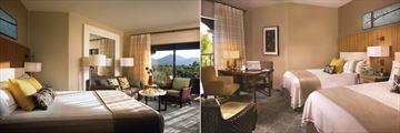 Fairmont Scottsdale Princess, Deluxe Room and Fairmont Room