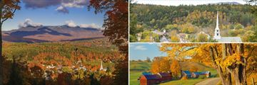 Vermont's Fall scenery