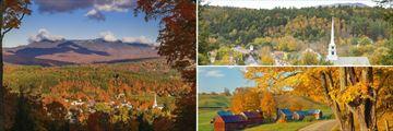 Vermont's Fall scenery