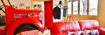 Fire Station Inn, Fire Engine Spa Suite