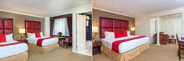 Deluxe Room Two Queens and Junior Suite King at Fitzpatrick Grand Central