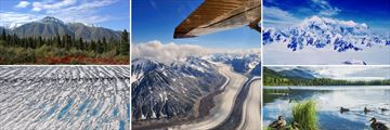 Flightseeing in Kluane National Park & A lovely pond in Beaver Creek, Yukon