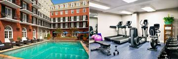 Pool and Fitness Centre at Four Points by Sheraton French Quarter