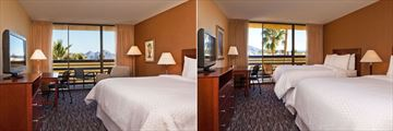 Four Points by Sheraton Phoenix North, King Guest Room and Two Doubles Guest Room