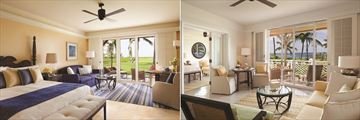 Four Seasons Resort Nevis, Ocean View Room and Plantation Suite