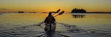 Kayaking in New Brunswick