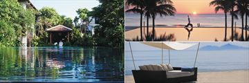 Fusion Maia Resort, Spa, Yoga at Sunset and Beach