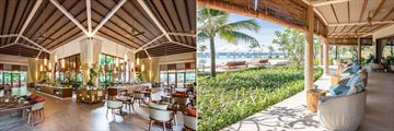 Fusion Resort Phu Quoc's Secret Garden restaurant and Soul Kitchen bar