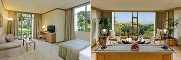 Junior Suite and King Suite at Gloria Verde Resort