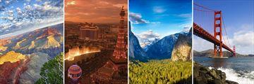Grand Canyon, Las Vegas, Yosemite & San Francisco