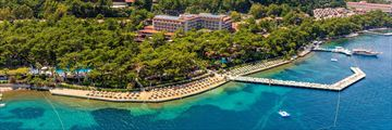 Aerial view of  Grand Yazici Club Marmaris Palace