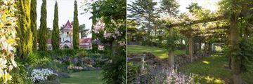Greenhill Lodge, Gardens and Pergola