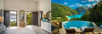 Sea View Cottage and Sea View Pool Cottage at Guana Island