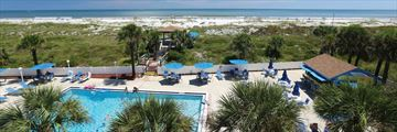 Guy Harvey Resort on Augustine Beach, Pool and Beach Views