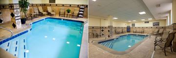 Hampton Inn & Suites Knoxville-Downtown, Pool