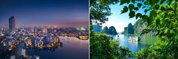 Hanoi city & Halong Bay