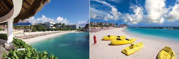 Hard Rock Hotel Riviera Maya, Beach and Kayaks