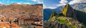 Cusco views and Machu Picchu
