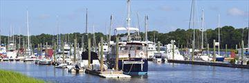 Hilton Head marina, South Carolina
