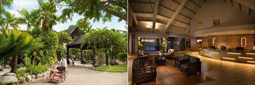 DoubleTree Resort by Hilton Hotel Fiji, Hotel Entrance and Lobby
