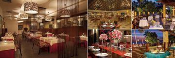 Dining at Hilton La Romana Resort & Spa