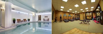 Hilton Saint John, Pool and Fitness Room