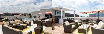 Rooftop Pool and Bar at Holiday Inn Capitol
