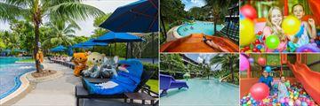 Holiday Inn Resort, Krabi, Kids' Pool and Trampoline, Water Slide, Kids' Club Ball Play Area, Indoor Play Area and Kids' Pool