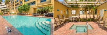 Outdoor Pool and Whirlpool at Holiday Inn Tampa Westshore