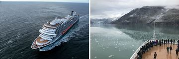 Holland America MS Koningsdam Cruise Ship in Alaska