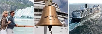Holland America MS Koningsdam cruise ship in Alaska
