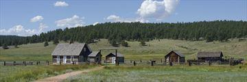 Hornbek Ranch, Florissant Fossil Beds National Park, Colorado