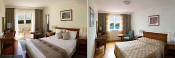 Double Room Sea View with Balcony and Double Room Sea View at Hotel Bozica