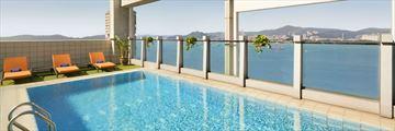 Hotel Jen Hong Kong, Rooftop Pool